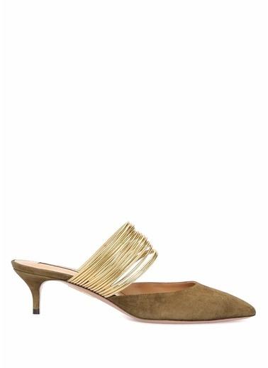 Aquazzura Ayakkabı Haki